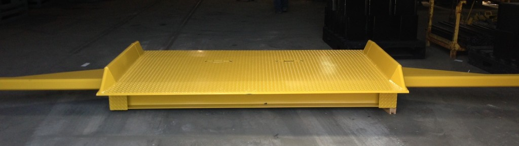 custom railboard for loading docks