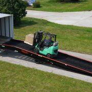 Truck dock ramp