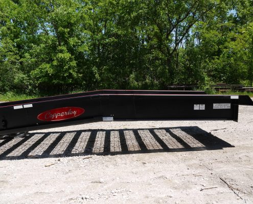 custom manufactured yard ramp by Copperloy